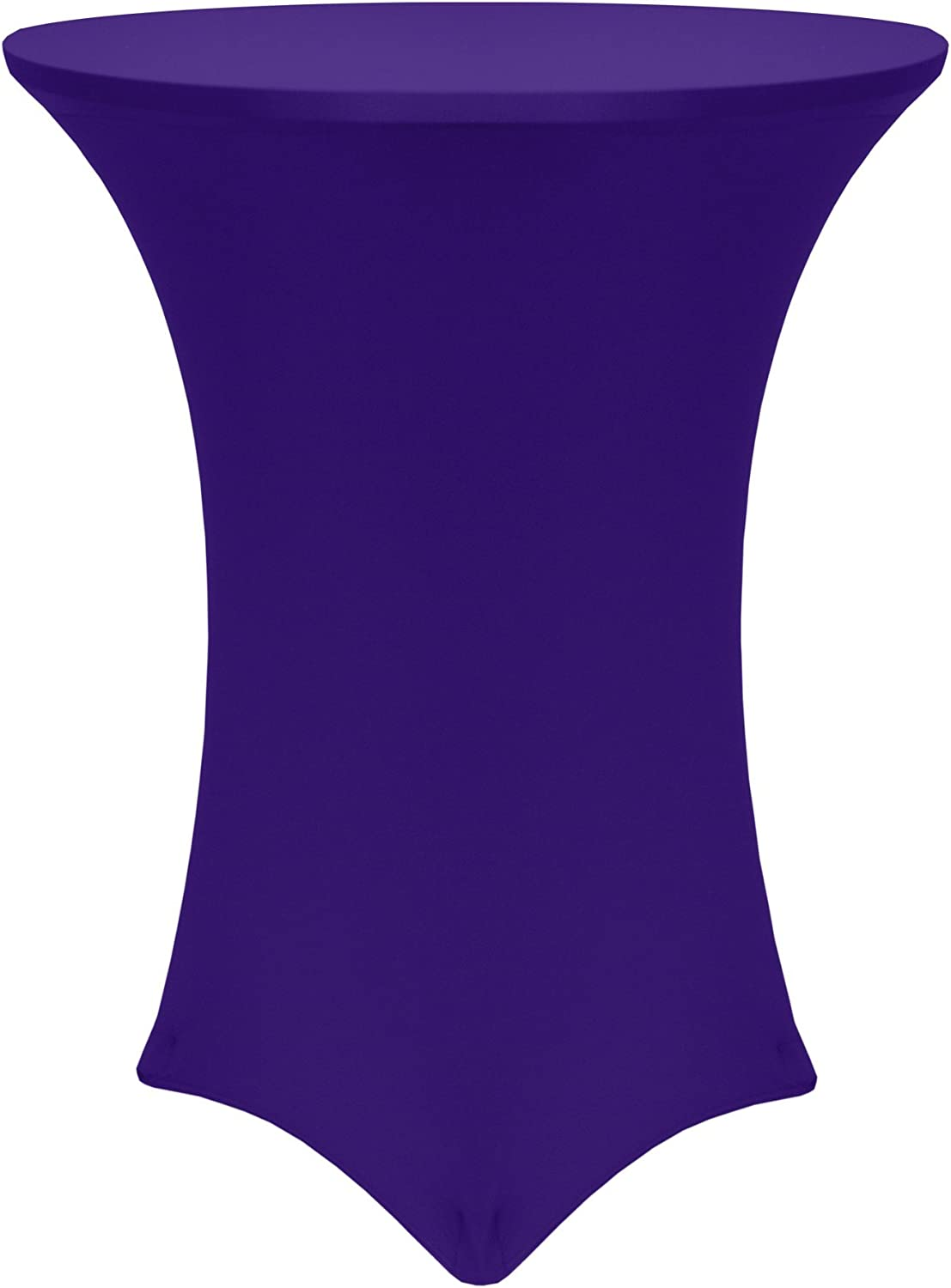 Ultimate Textile -55 Pack- 24-Inch Fitted Spandex Cocktail Albuquerque Mall Round High order