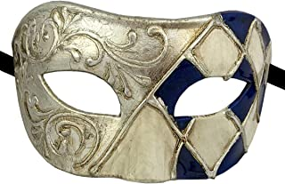 Luxury Mask Assorted Venetian Party Mask Multicolored