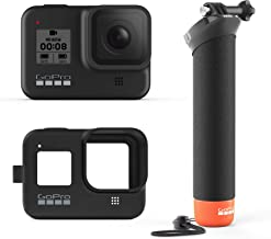 GoPro HERO8 Black Bundle with The Handler (Floating Hand Grip) and Sleeve + Lanyard (Black)