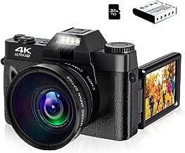 4K Digital Camera Vlogging Camera 48MP Full HD Video...