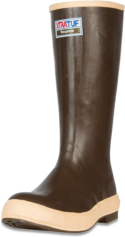 XTRATUF Legacy Series 15  Neoprene Men's Fishing Boots, Copper & Tan (22272G)