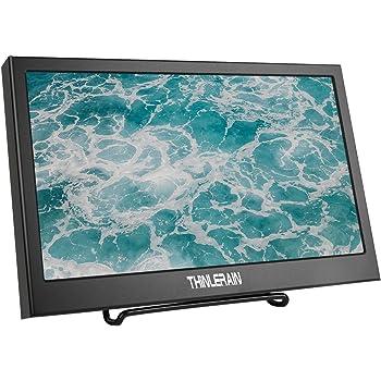 Thinlerain Monitor portátil HDMI VGA de 11,6 Pulgadas, Monitor LED 1920 x 1080P IPS para Raspberry Pi, Xbox 360, PS3, PS4, Windows 7 8 10, cámara: Amazon.es: Electrónica