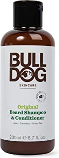 Bulldog Skincare and Grooming For Men Original Beard Shampoo and Conditioner, 6.7 Ounce