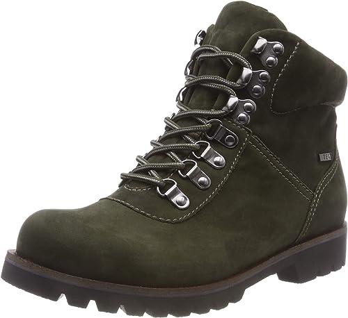 CAPRICE 9-9-26216-21 715, botas Militar para mujer
