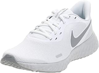 Nike Nike Revolution 5, Men's Mid-Top Running Shoe, White Wolf Grey Pure Platinum, 8 UK (42.5 EU)
