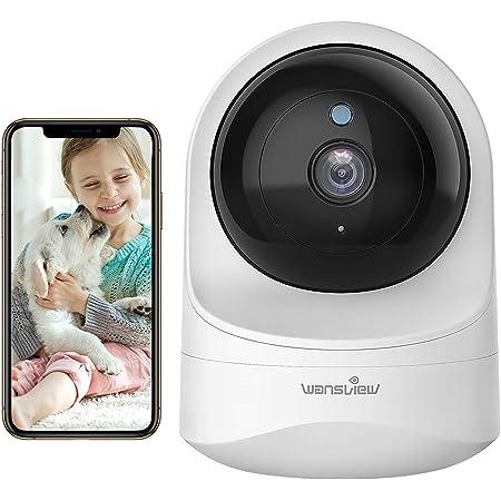 Wansview Überwachungskamera Wlan Ip Kamera Wifi 1080p Für Baby Ältere Haustiere Monitor Mit Bewegungserkennung Zwei Wege Audio Nachtsicht Und Arbeitet Mit Alexa Q6 Weiß Baumarkt