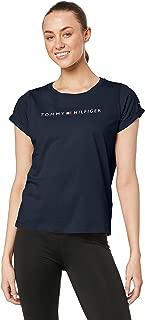 TOMMY HILFIGER Women's Logo Cotton Jersey T-Shirt