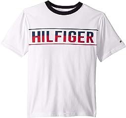 Hilfiger Logo Graphic Tee (Big Kids)