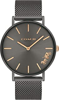 Coach WOMEN'S GREY DIAL IONIC PLATED GREY 2 STEEL WATCH - 14503127