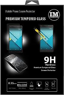 ENERGMiX Premium härdat skyddsglas kompatibel med BQ Aquaris M5.5 // pansar hårt glas skydd glas extremt reptåligt säkerhe...