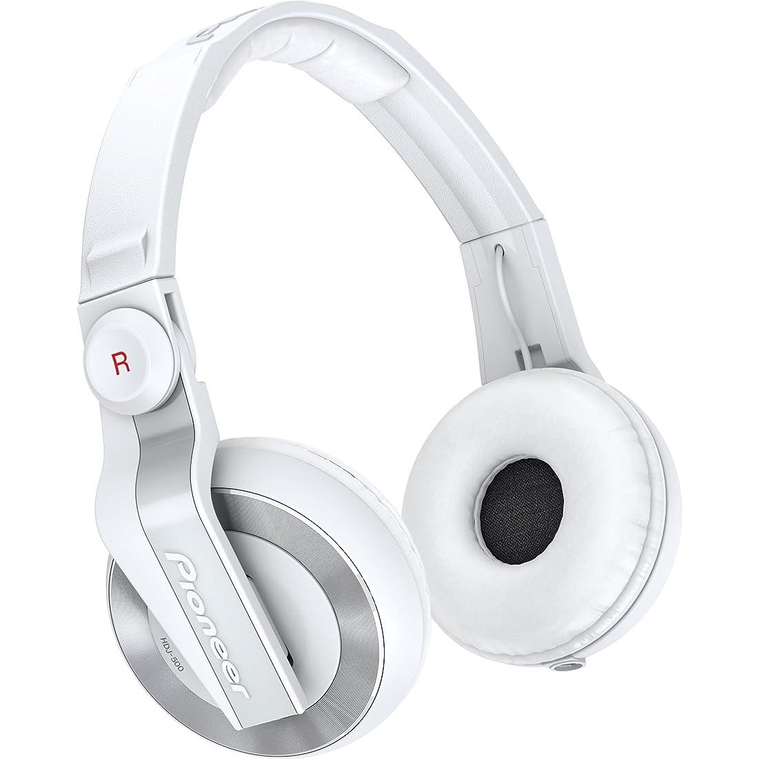 王位雹切り下げPioneer DJ用ヘッドホン ホワイト HDJ-500-W