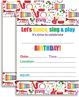 dance themed birthday party