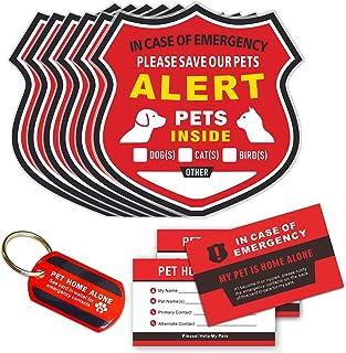 Pet Alert Stickers - in Case of Emergency Pets