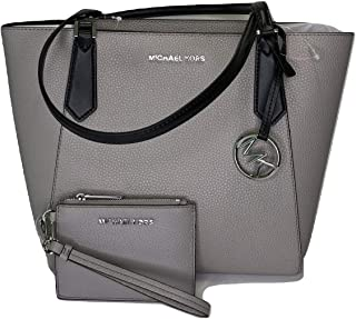 7b436be24c9bc9 MICHAEL Michael Kors Kimberly SM Bonded Tote bundled with Michael Kors Jet  Set Travel Coin Purse