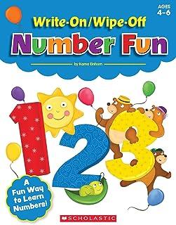Write-On/Wipe-Off Number Fun