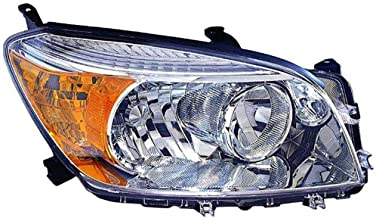 Fits Toyota Rav4 2006-2008 Headlight Assembly Unit Base.Limited Model Passenger Side (CAPA Certified) TO2519106C