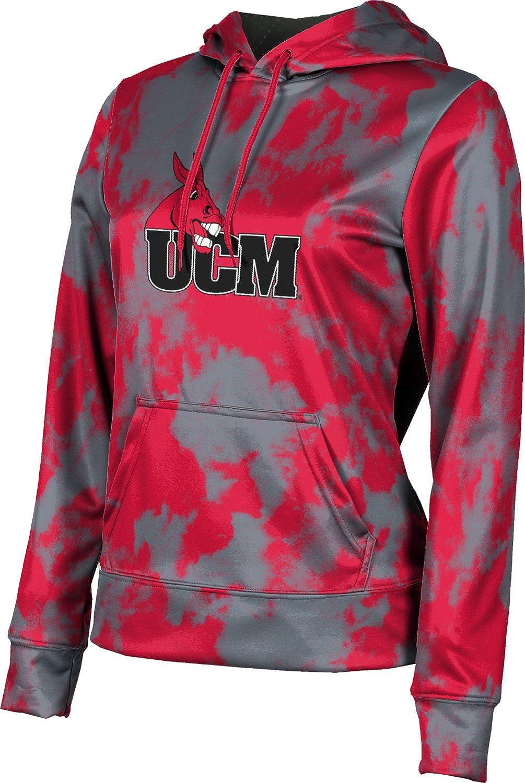 ProSphere University of Central Missouri Girls' Pullover Hoodie, School Spirit Sweatshirt (Grunge)