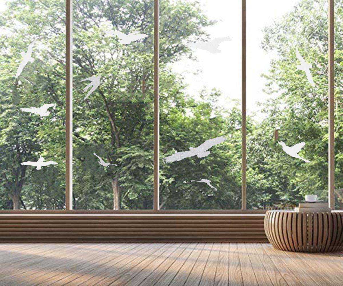 Max 67% OFF Window Alert Bird Stickers mart Silhouettes Sav Glass Protection Door