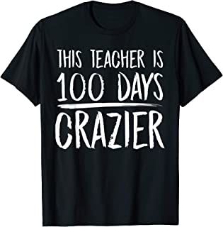 100th Day of School Gift Design For Elementary Teachers T-Shirt