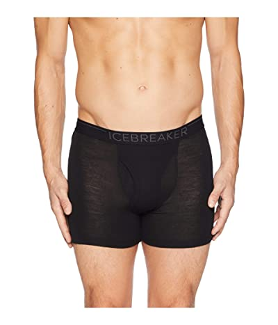 Icebreaker 175 Everyday Merino Base Layer Boxers (Black/Monsoon) Men