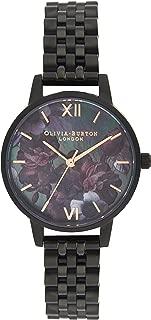 Olivia Burton Womens Quartz Watch, Analog Display and Stainless Steel Strap OB16AD41