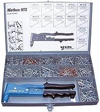 NTX-F KIT, Gesipa, Gesipa Manual Rivet Tool Kit, [Ntx-F Manual Rivet Tool, W/Rivets]. (1 PK)