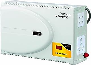 "V-Guard Digi 200 Smart TV Stabilizer for up to 203 cm (80"") TV + Set top Box + Home Theatre (Working Range: 140-295 VAC ;..."