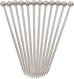 "Stainless Steel Cocktail Picks – 4"" (12pc Set)"