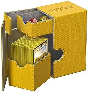 Ultimate Guard - Deck Box: Flip N Tray 80+ XenoSkin Amber Toy