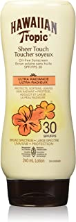 Hawaiian Tropic Sheer Touch Sunscreen Lotion, Reef Friendly, SPF 30, 240ml