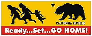 Anti Illegal Immigrant Bumper Sticker - Go Home