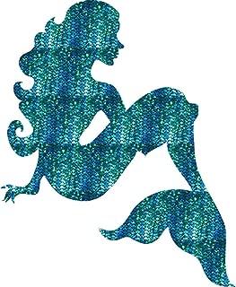 Mermaid Decal Sticker Premium Vinyl Laptop car Window 4