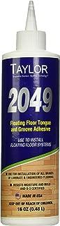 WF Taylor 220863 2049-16 16 oz Floating Floor Tongue & Grove Adhesive Bottle