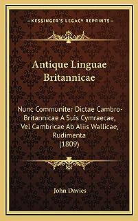 Antique Linguae Britannicae: Nunc Communiter Dictae Cambro-Britannicae A Suis Cymraecae, Vel Cambricae Ab Aliis Wallicae, ...