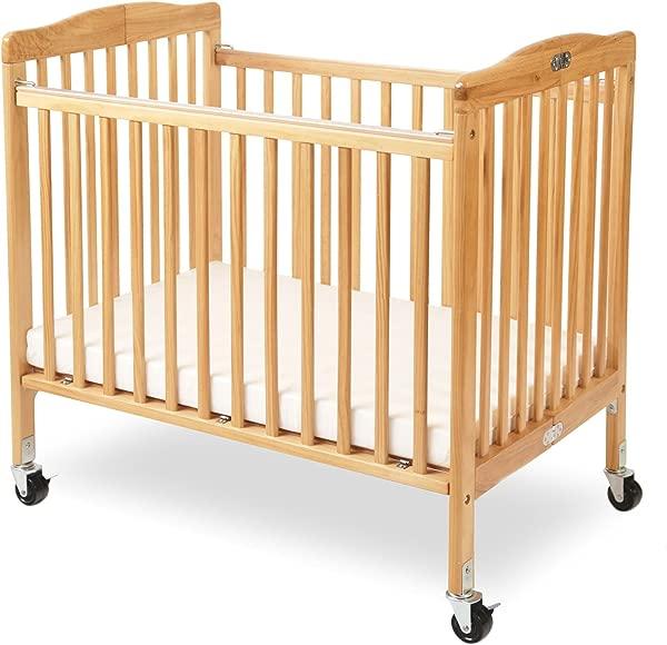 LA 婴儿小实木婴儿床天然