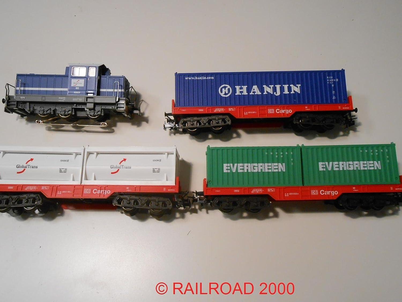 Mrklin Zugset Containerzug mit DHG 700 mit mfx Digitaldecoder aus 29452
