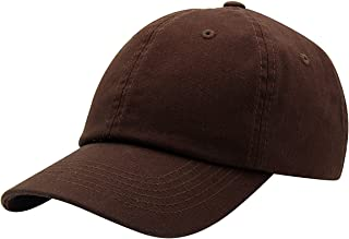 Top Level Baseball Cap for Men Women - Classic Cotton Dad Hat Plain Cap Low Profile