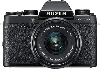 FUJIFILM ミラーレス一眼 X-T100レンズキット ブラック X-T100LK-B