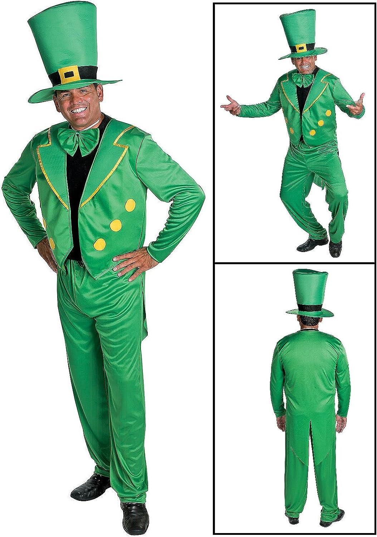 Leprechaun Costume Set. St. Brand new Patrick's Pants 49