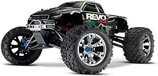 Traxxas Revo 3.3: 1/10 Scale 4WD Nitro-Powered Monster Truck with TQi 2.4GHz Radio & TSM, Green