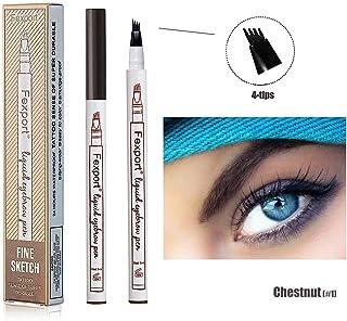 KIW Eyebrow Pencil - Waterproof Smudge-proof Eyebrow Pencil Long-lasting Brow Gel for Eyes Makeup