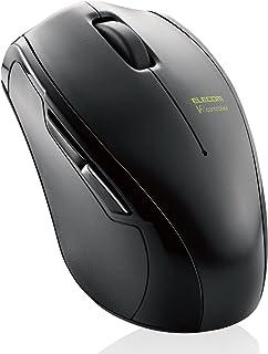 エレコム ワイヤレスマウス Bluetooth 【床、ソファ、衣類の上でも操作できる抜群の操作性】 VRマウス Android専用 ブラック M-VRF01BK