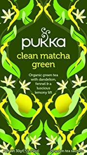 Pukka Clean Matcha Green,  30 g