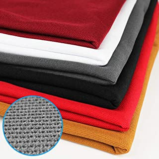 Stage Speakers Speaker Cover Fabric 1.7 0.5m Stereo Gille Fabric Speaker Mesh Cloth Dustproof for Large Speakers 黑色 Speaker Grill Cloth