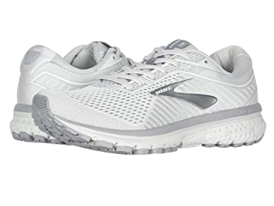 Brooks Ghost 12 (Oyster/Alloy/White) Women