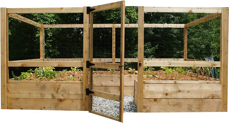 Deer-Proof excellence Just Cash special price Add Lumber Vegetable 8'x12' Garden Kit -