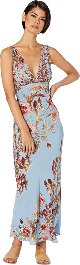 45067c41124 Free People. Claire Printed Maxi Dress.  64.80MSRP   108.00. 3Rated 3  stars. Blue