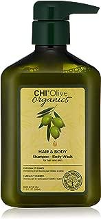 CHI Olive Organics Shampoo & Body Wash, 11.5 Fl Oz