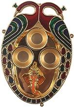 Decorative Peacock Pooja THALI by DEVIKA Pooja THALI Platter,Decorative Pooja Platter with 3 vatis,Great Gift IDEA, for Wedding Decorations,Gifting,Ganpati,Rakhi,Navratri,n All Festival Gifting