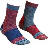 ORTOVOX Damen Alpinist Mid Socken, Hot Coral, 35-38
